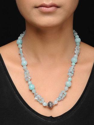 Blue Onyx Beaded Necklace