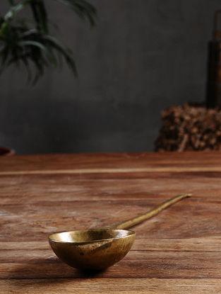 Vintage Brass Spoon (13.7in x 2.6in)
