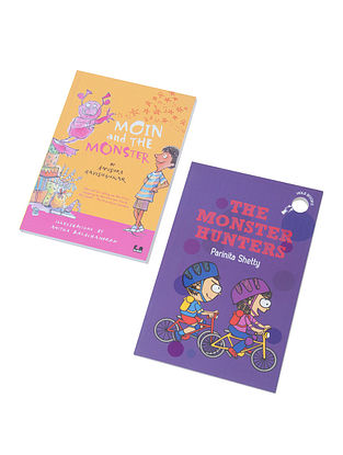 Moin and the Monster and The Monster Hunters (Set of 2)