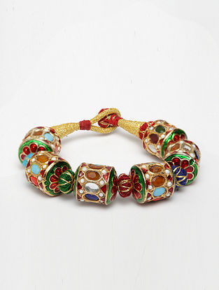 Multicolored Navratan Bracelet