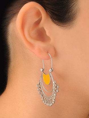 Pair of Classic Silver Earrings