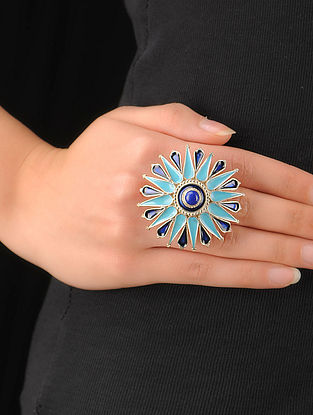 Classic Bold Silver Adjustable Ring