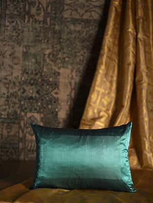 Shell Green Silk Cushion Cover (20in x 14in)