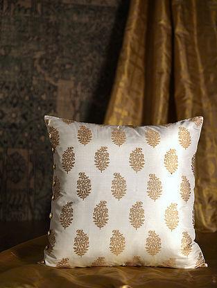 Ambi Golden Silk Cushion Cover (20in x 20in)