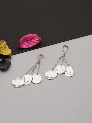Silver Plated Handcrafted Earrings