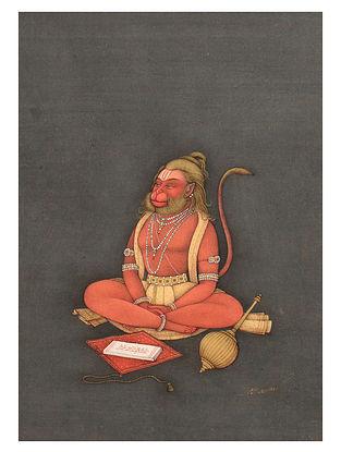 Shri Mahaveer Swamis Lord Hanuman Digital Print on Archival Paper