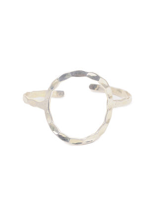 Classic Silver Plated Adjustable Brass Cuff