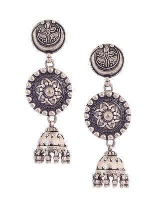 Vintage Silver Jhumkis