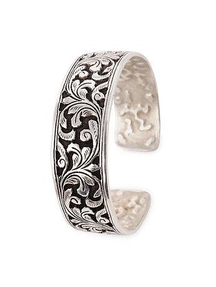 Tribal Silver Bangle (Bangle Size: 2/7)