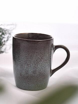 Brown Handmade Ceramic Mug (L - 4.5in, W - 3.2in, H - 4.2in)