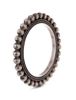 Tribal Silver Bangle (Bangle Size: 2/2)
