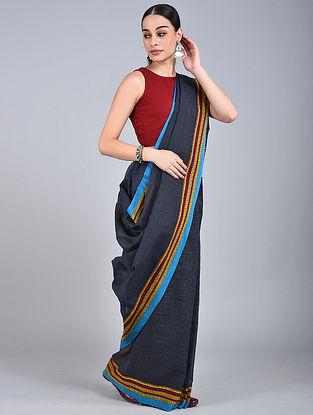 Blue Handwoven Narayanpet Cotton Saree