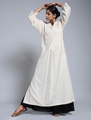 Ivory Cotton Flax Tunic