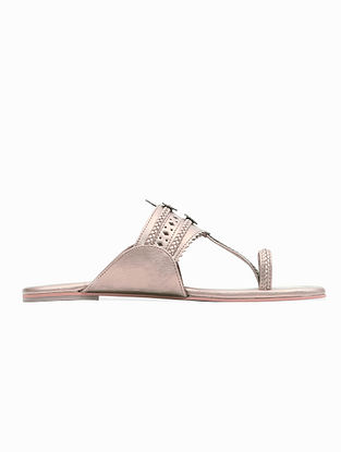 Rose Gold Handcrafted Flats