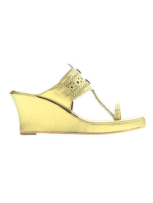 Golden Handcrafted Wedges