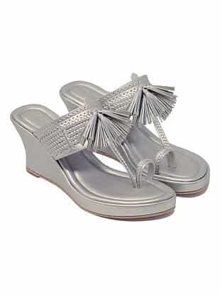 Silver Handcrafted Wedges