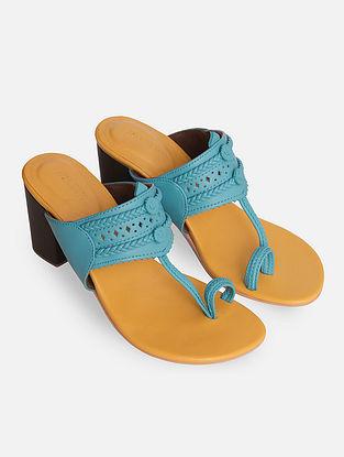 Aqua Handcrafted Kolhapuri Block Heels