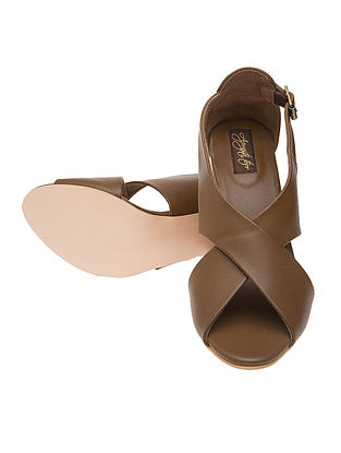 Brown Hand-crafted Sandals