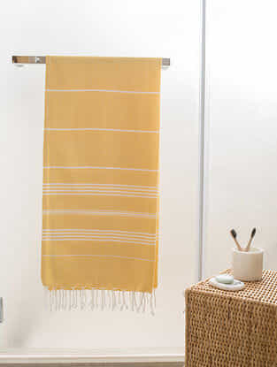 Lemonade Fizz Cotton Bath Towel (61in x 30in)