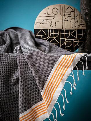 Slate Cotton Bath Towel (60in x 31in)