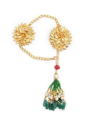 Multicolored Gold Tone Bracelet