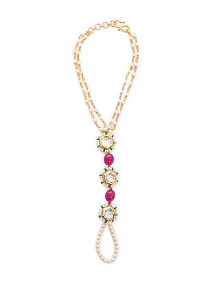 Pink Gold Tone Bracelet