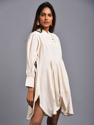 Bianca Ivory Organic Cotton Dress