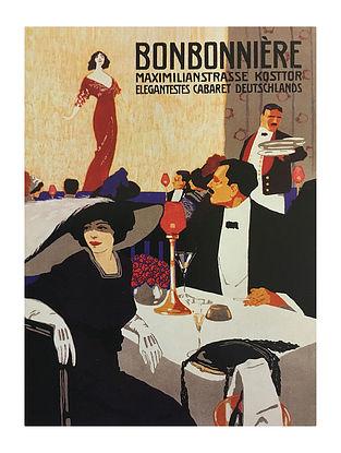 Bonbonniere Print on Paper