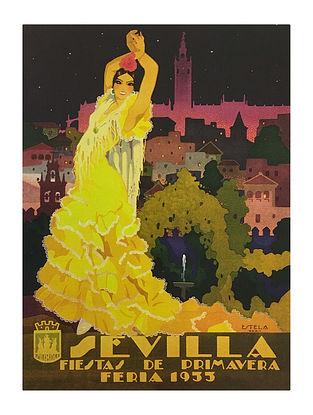 Sevilla - Fiestas De Primavera Print on Paper