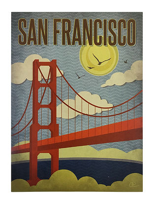 San Francisco Print on Paper