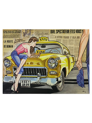 Taxi Print on Paper