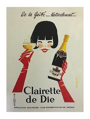 Clairette De Die Print on Paper