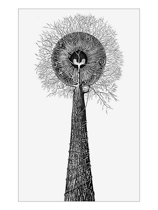 Tree of Huamainty Art Print on Paper- 12in x 18in