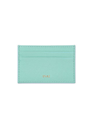 Ocean Green Handcrafted Leather Card Case