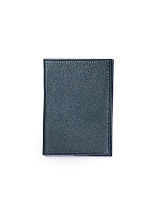 Dark Green Handcrafted Leather Passport Case