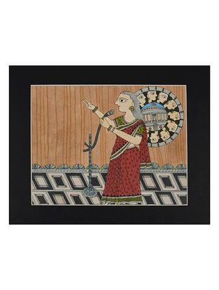 Amita Madhubani Art Panel-Abhaya