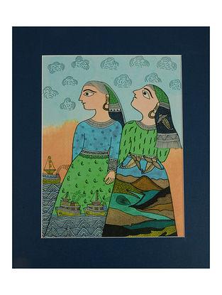 Amita Madhubani Art Panel-Mahi