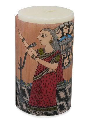 Amita Madhubani Aromatic Art Candle-Abhaya