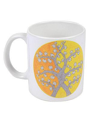 4 Seasons Gond Art Mug-Winter
