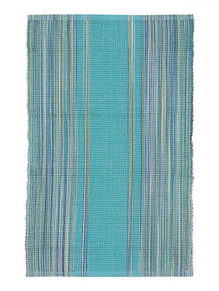 Turquoise Handwoven Cotton Placemats (Set of 6)