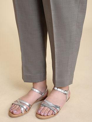 Grey Matka Cotton Pants