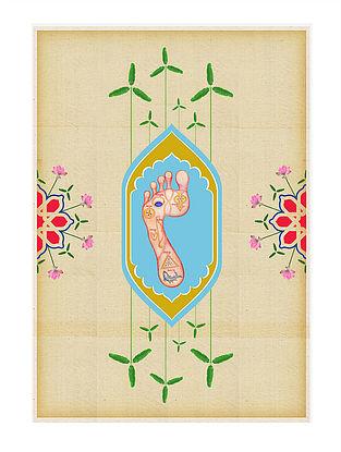 Chakhdi (Sacred Feet) Art Print on Paper