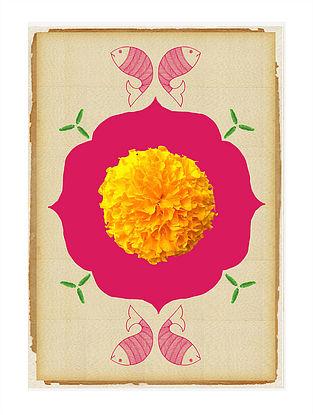 Mandala Art Print on Paper