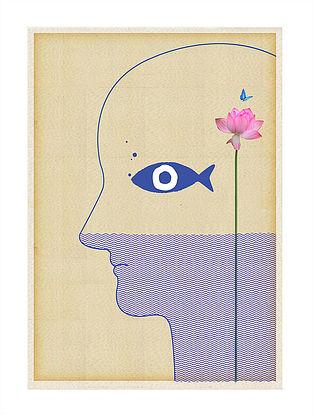 Manoramya Art Print on Paper
