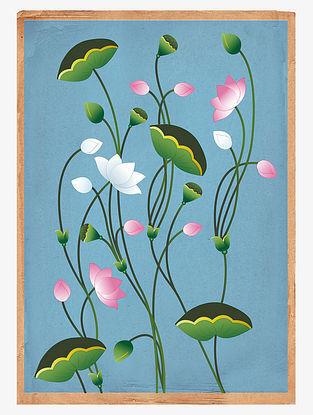 Lotus Art Print on Paper