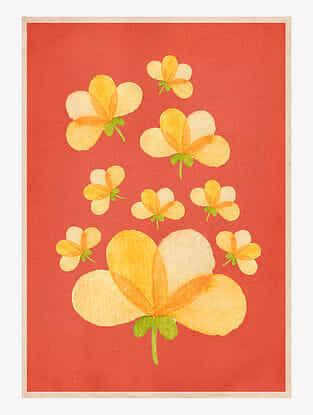 Spring Art Print On Paper