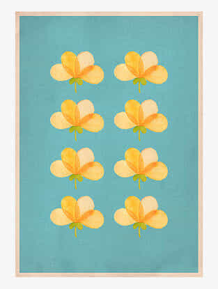 Indian Summer Art Print On Paper