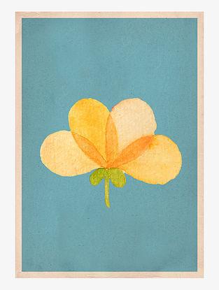 Summer Yellow Art Print On Paper