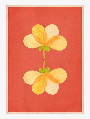 Divine Blossom Art Print On Paper