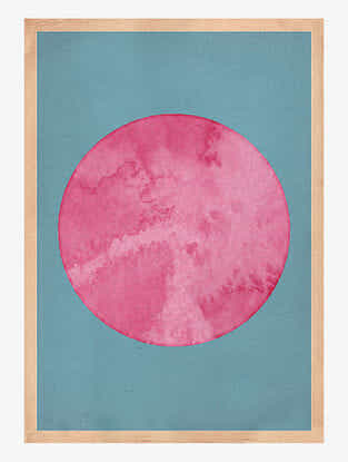 Summer Pink Art Print On Paper